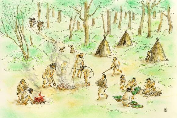 新富町の縄文時代から弥生時代