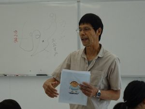講師の立石富男先生