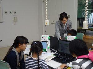 ロボットプログラミング教室